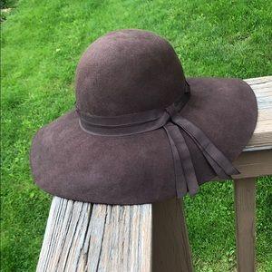 NWT Ralph Lauren brown felt floppy hat